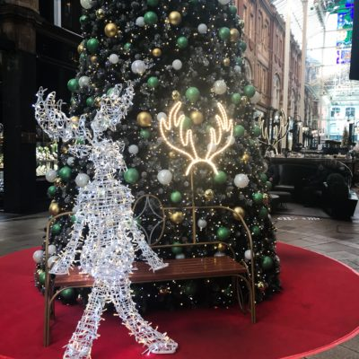 Christmas Photo opportunity in Victoria Quarter, Leeds