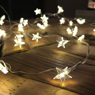 star shaped lights